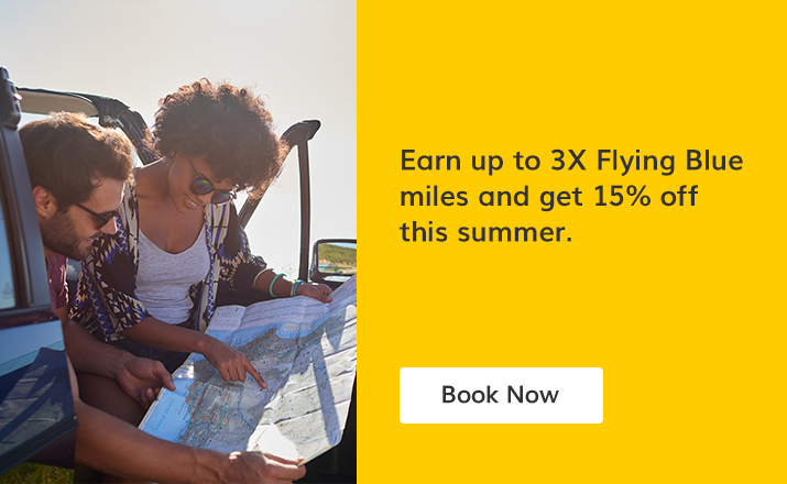 Enjoy the summer with Hertz